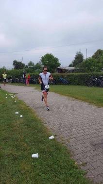 Hardtsee-Triahlon: Auf der Laufstrecke